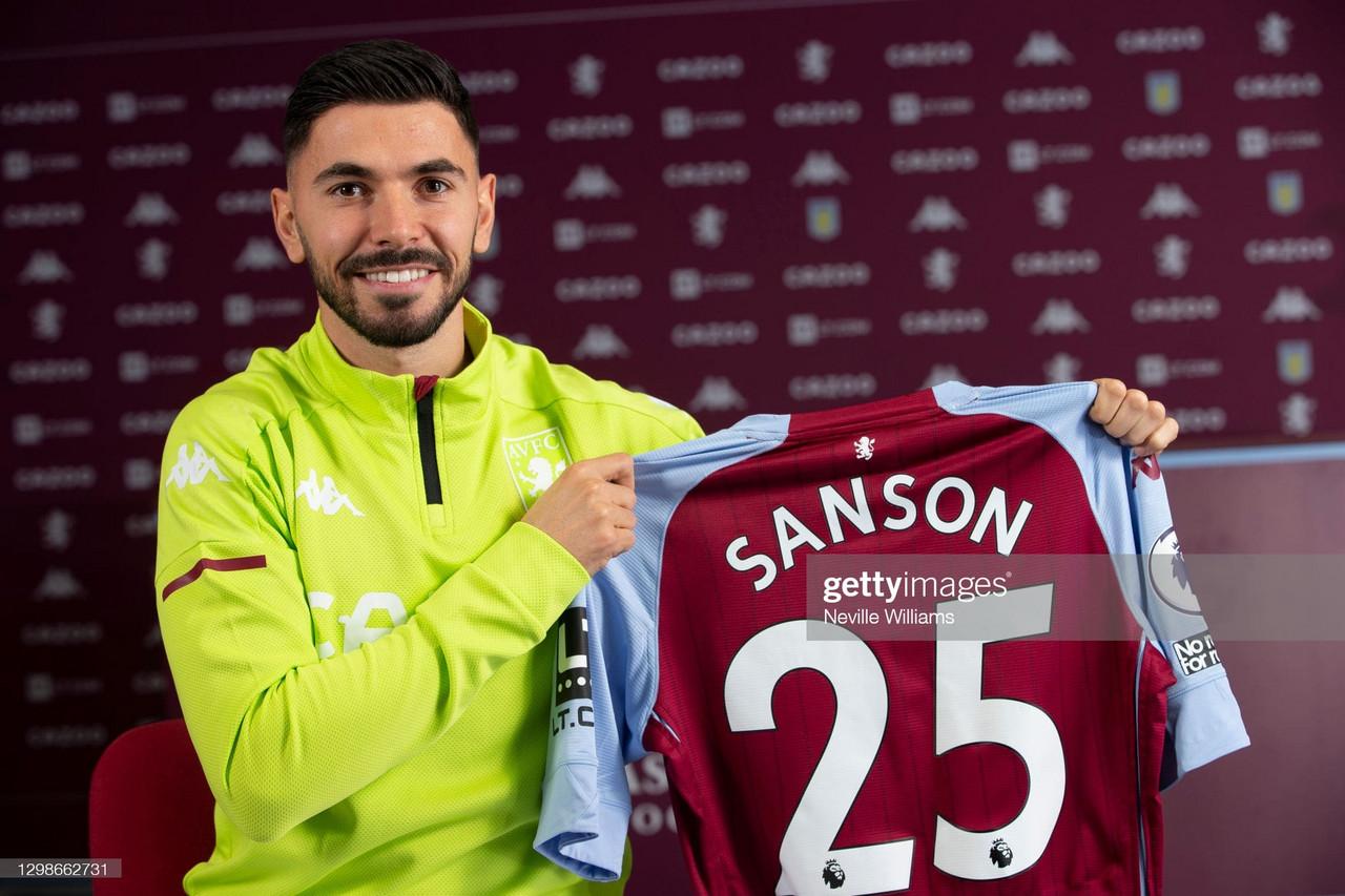 Aston Villa complete signing of midfielder Morgan Sanson