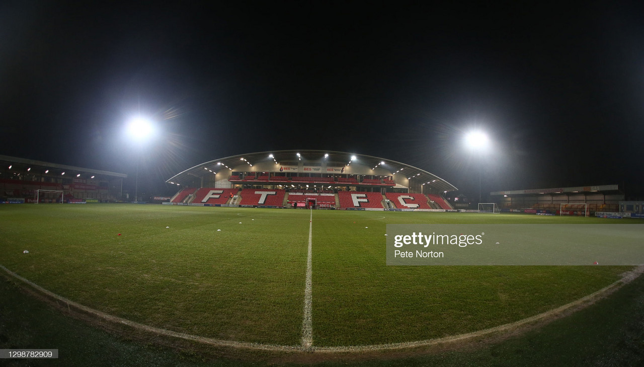 Fleetwood Town 2-1 Huddersfield Town: Cod Army defeat Terriers at the Highbury Stadium