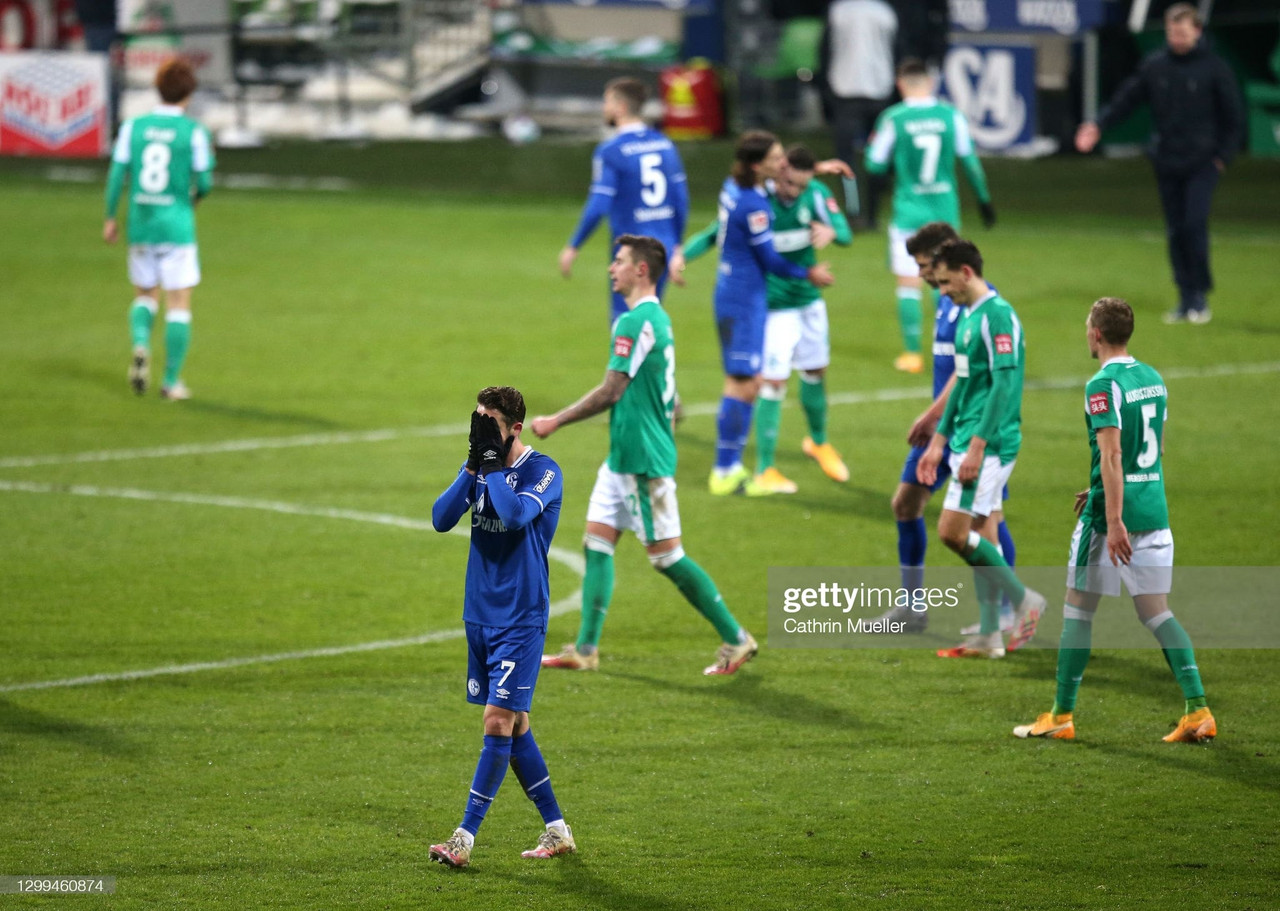Werder Bremen 1-1 Schalke 04: Two disappointing teams both settle for a point