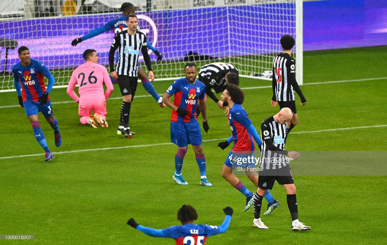 As it happened: Newcastle United 1-2 Crystal Palace