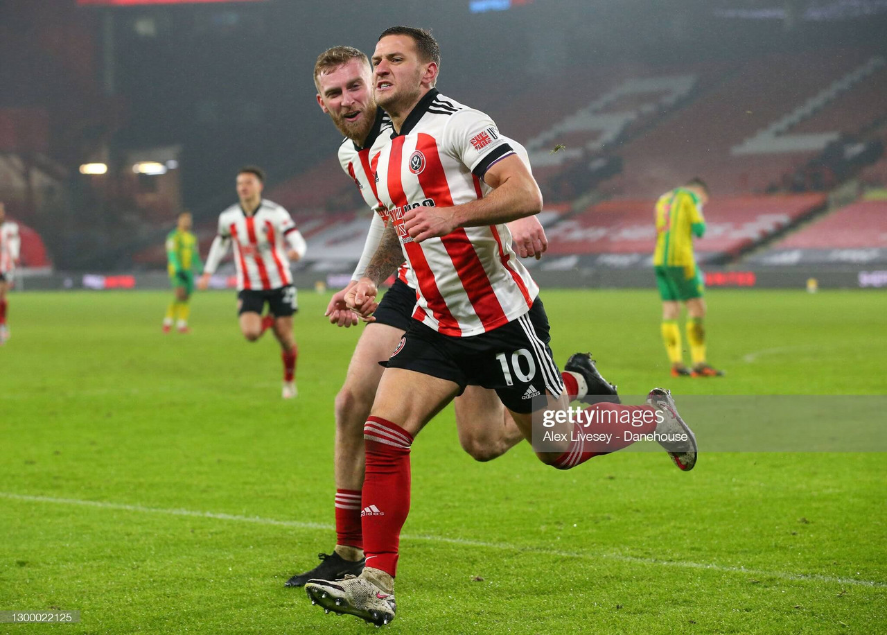 Sheffield United 2-1 West Bromwich Albion: Sharp winner seals crucial victory for Blades