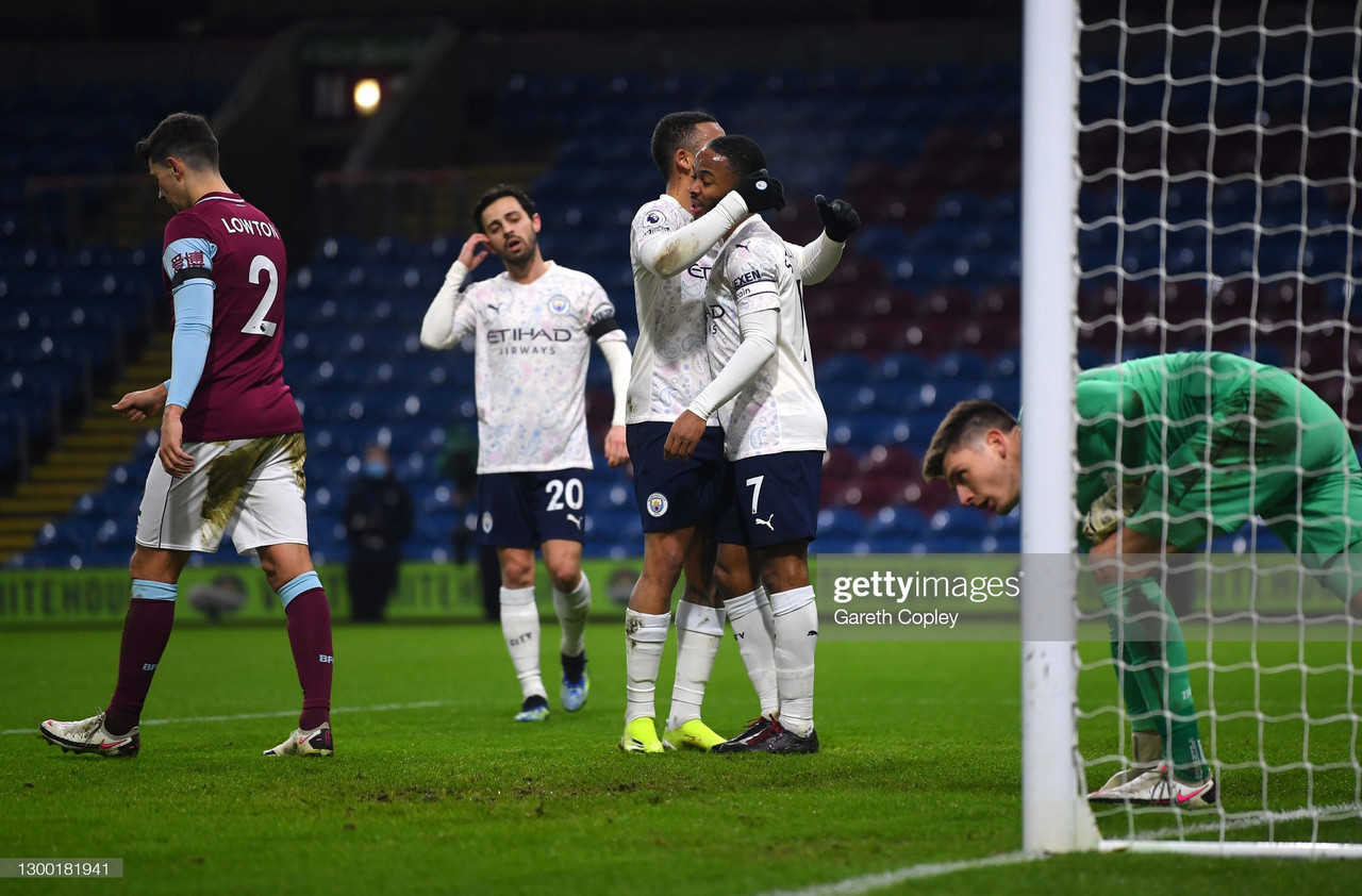 As it happened: Burnley 0-2 Manchester City