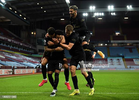 Aston Villa 1-3 West Ham United: Jesse Lingard wins the game for the Hammers