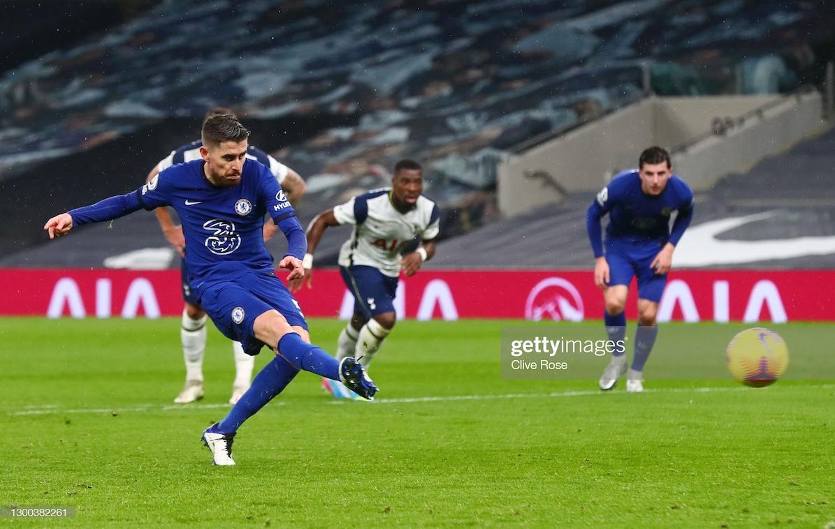 Tottenham 0-1 Chelsea: Jorginho penalty decides derby