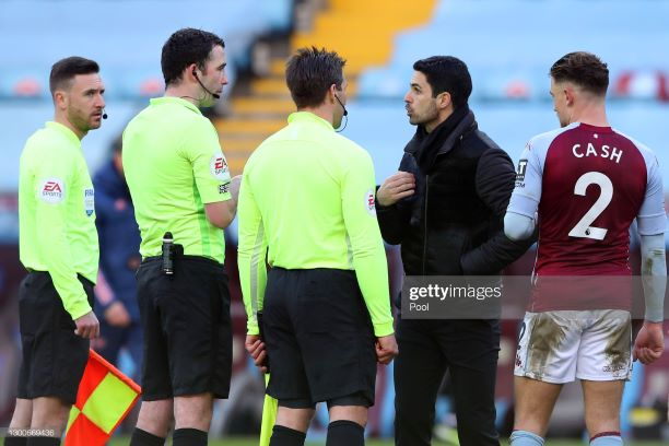The key quotes from Mikel Arteta's post-Aston Villa press conference