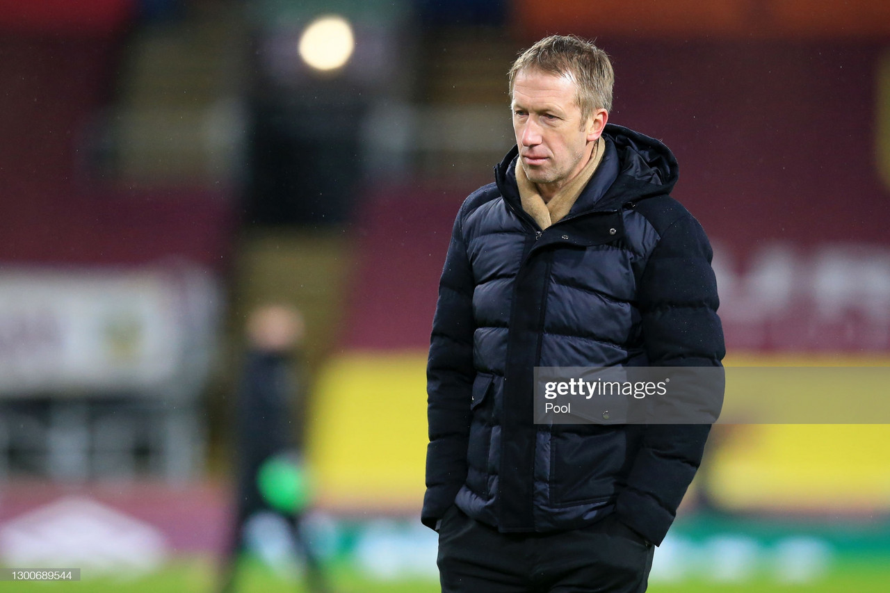 The three key quotes from Graham Potter's post-Burnley press conference