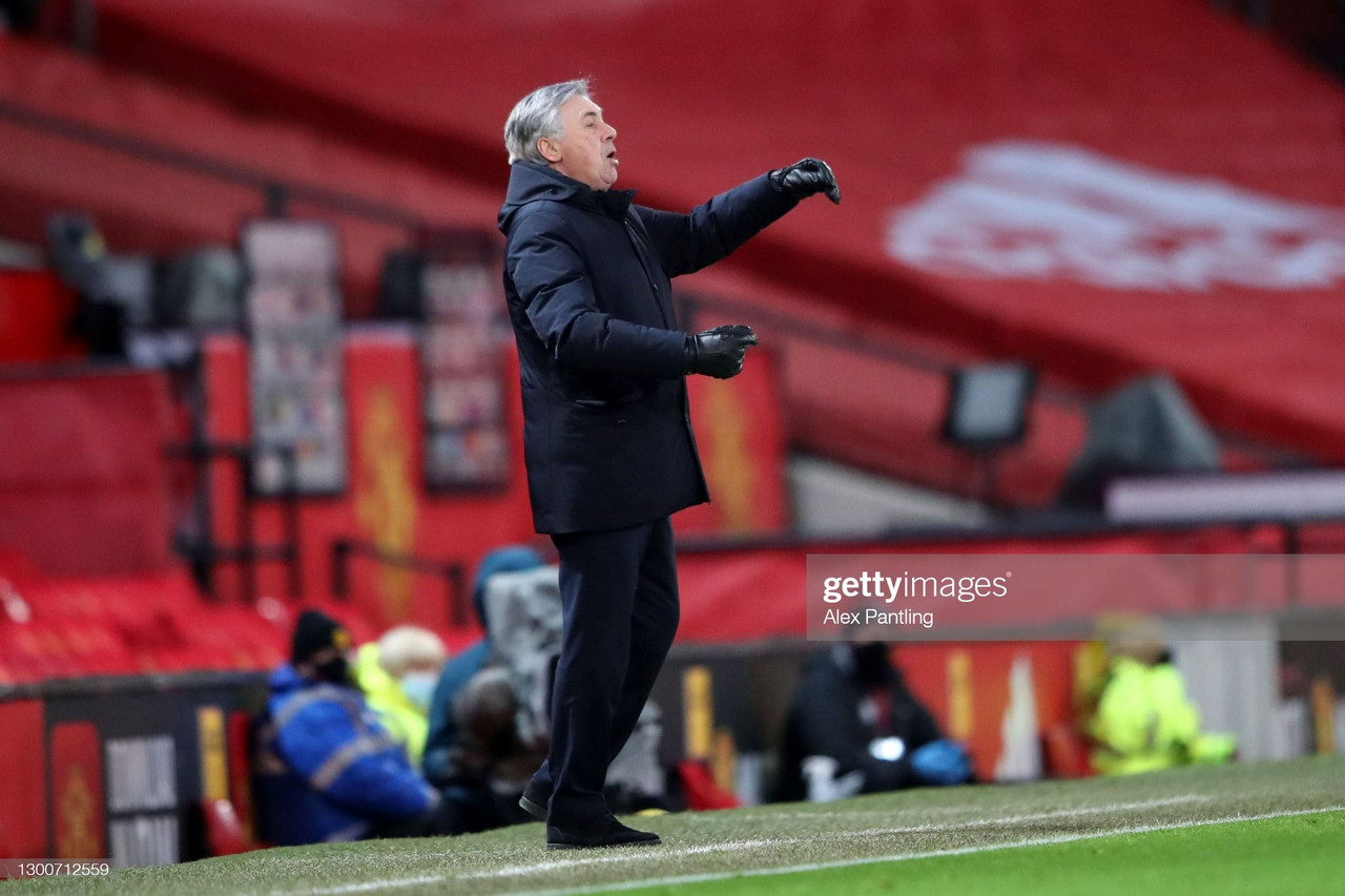 The key quotes from Carlo Ancelotti's post-Manchester United press conference