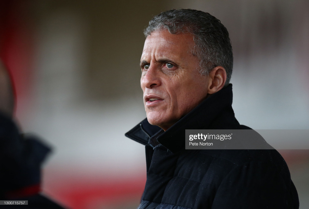 Northampton Town sack Keith Curle with Cobblers scrapping for survival