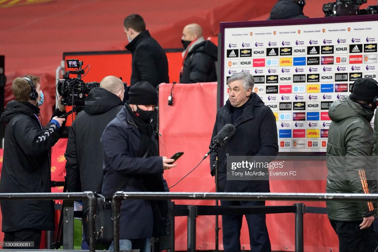 Key Quotes: Carlo Ancelotti previews Saturday's Merseyside derby