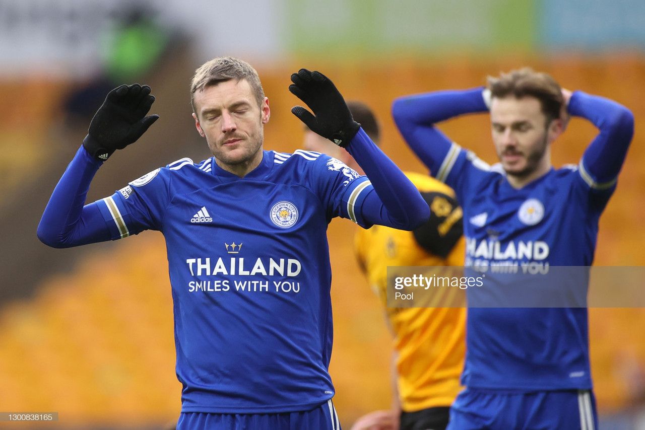 The Warm Down: Title hopes hampered for Leicester after being held to a frustrating draw against Wolves