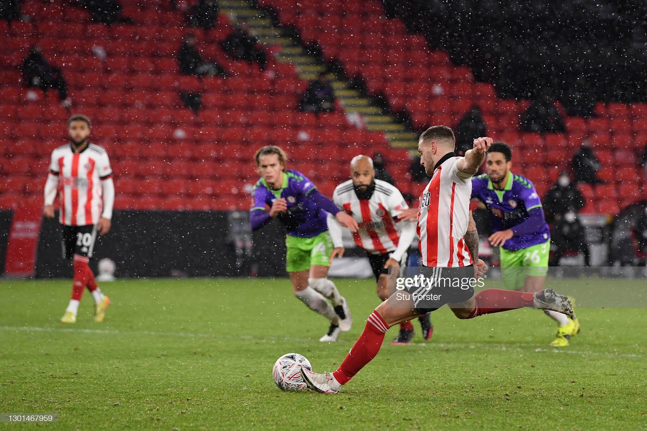 Sheffield United 1-0 Bristol City: Sharp fires Blades into FA Cup sixth round