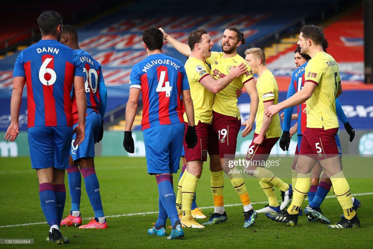 Crystal Palace 0-3 Burnley: Clinical Claretsrun riot at SelhurstPark