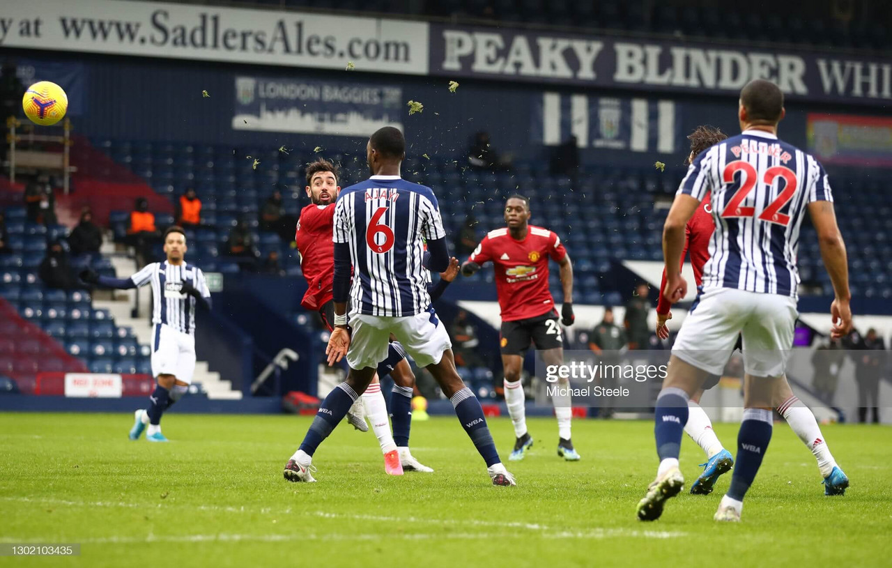 West Bromwich Albion 1-1 Manchester United: United drop points for second week in a row