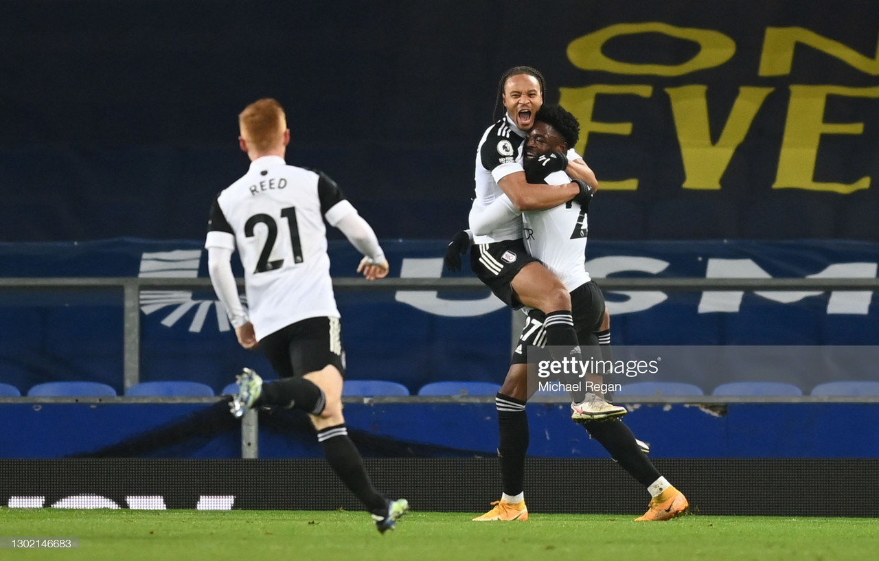 Everton 0-2 Fulham: Maja fires Fulham to vital Premier League win
