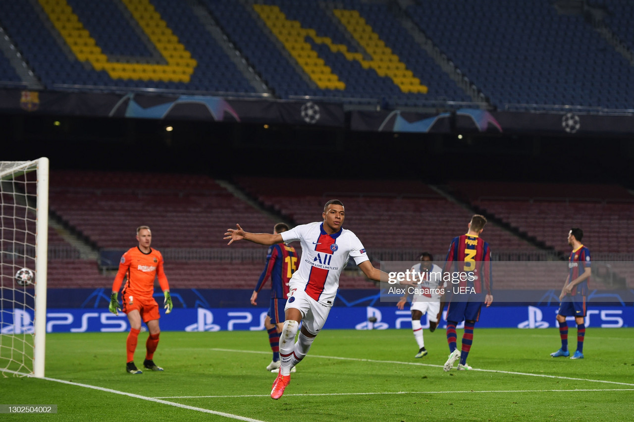 FC Barcelona 1-4 Paris Saint-Germain: PSG run riot at the Camp Nou
