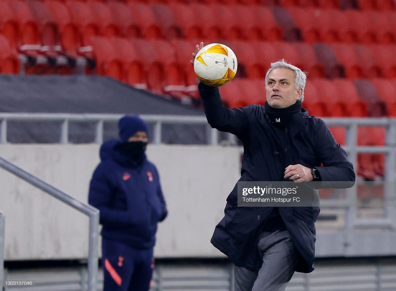 The five key quotes from Jose Mourinho's pre-Wolfsberger AC press conference