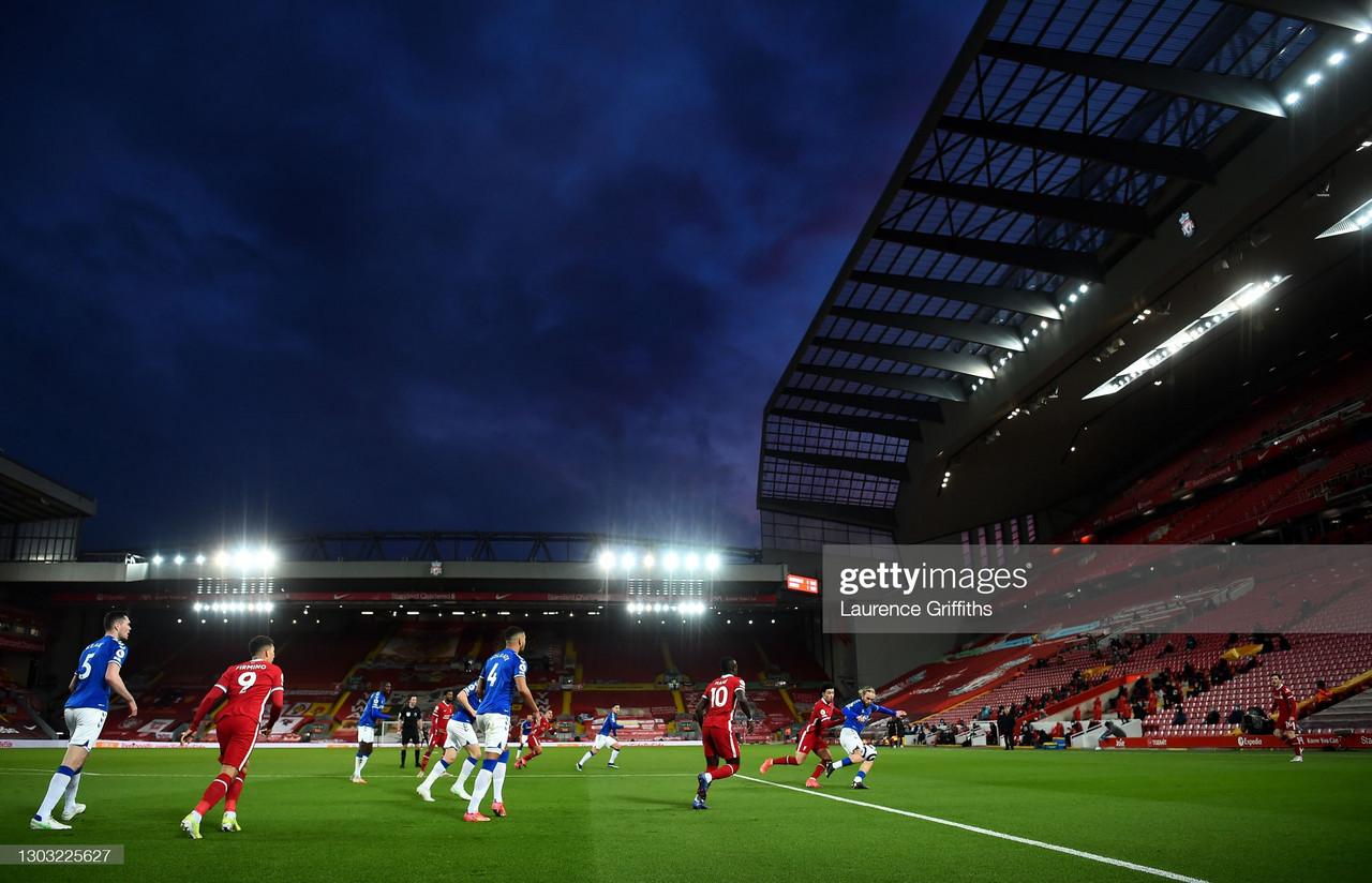 Liverpool 0-2 Everton- Reds continue shocking form