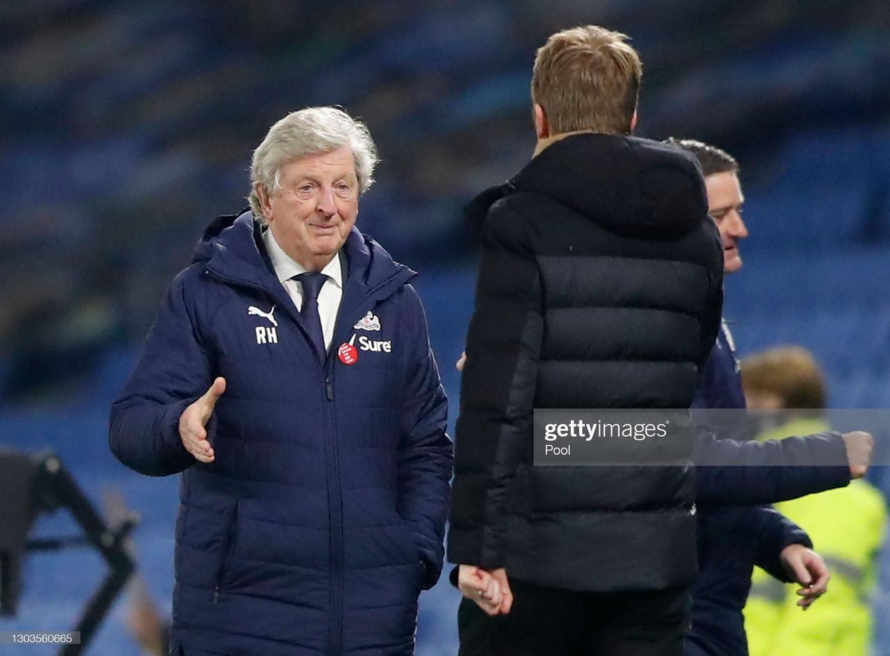 Crystal Palace press conference LIVE: Roy Hodgson on Zaha,Mateta, Benteke & Fulham preview