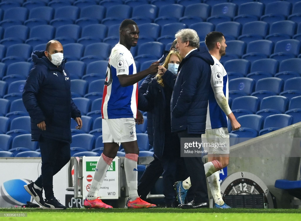 What Roy Hodgson believes Christian Benteke must dotokeep his place in theteam