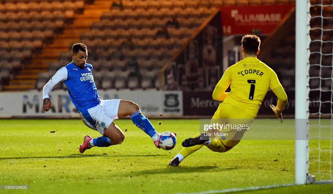 Plymouth Argyle 0-3 Peterborough United: Plundering Posh reap the rewards