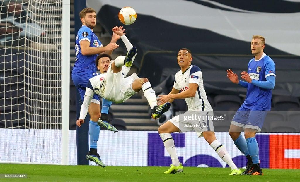 Dele Alli nominated forUEFA's Goal of the Season