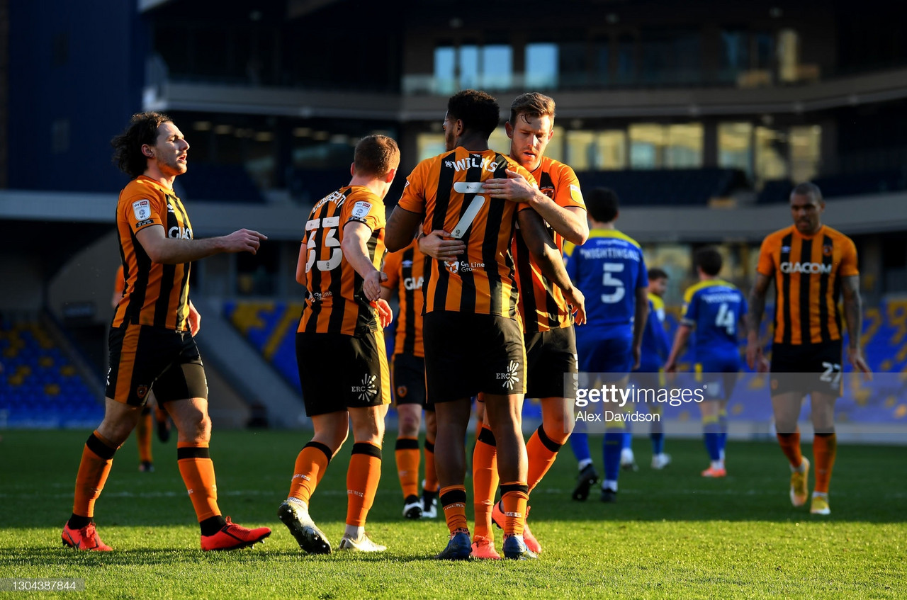 What is Hull City's strongest side going into the final stages of the season?