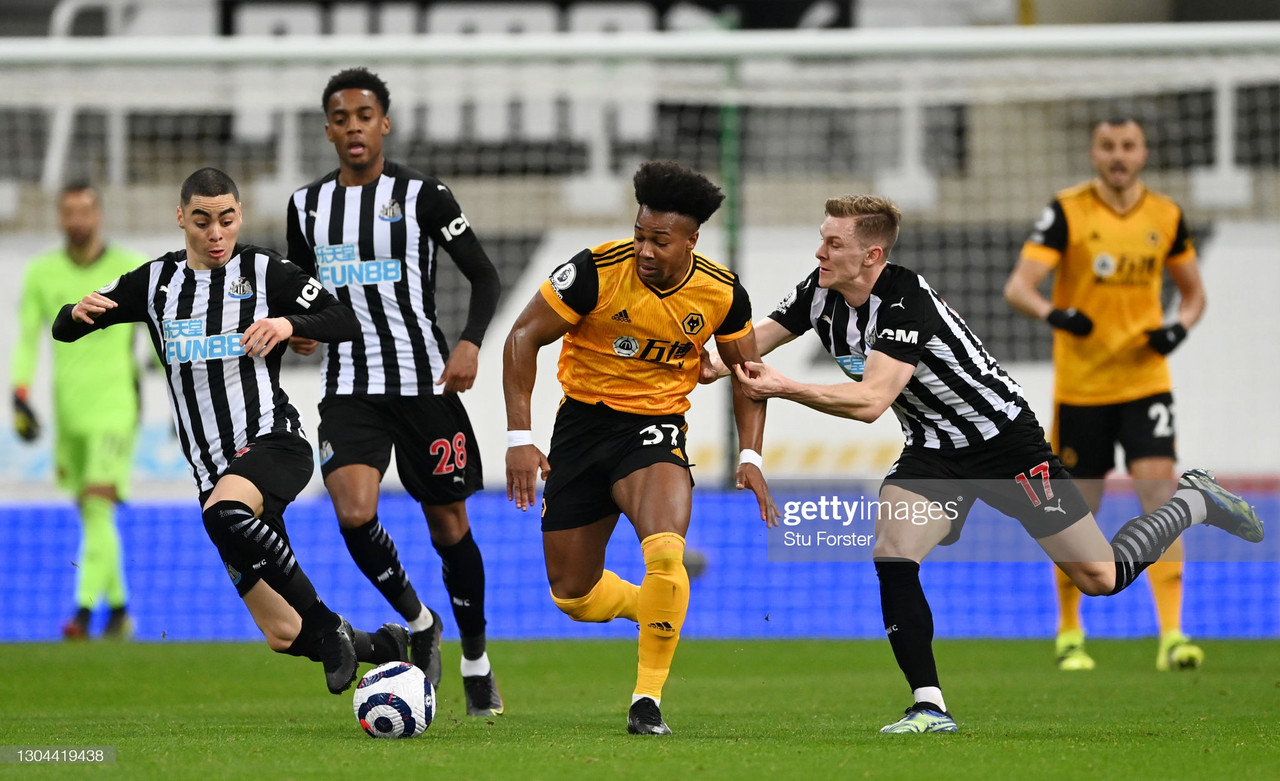 As it happened: Newcastle United 1-1 Wolverhampton Wanderers in the Premier League