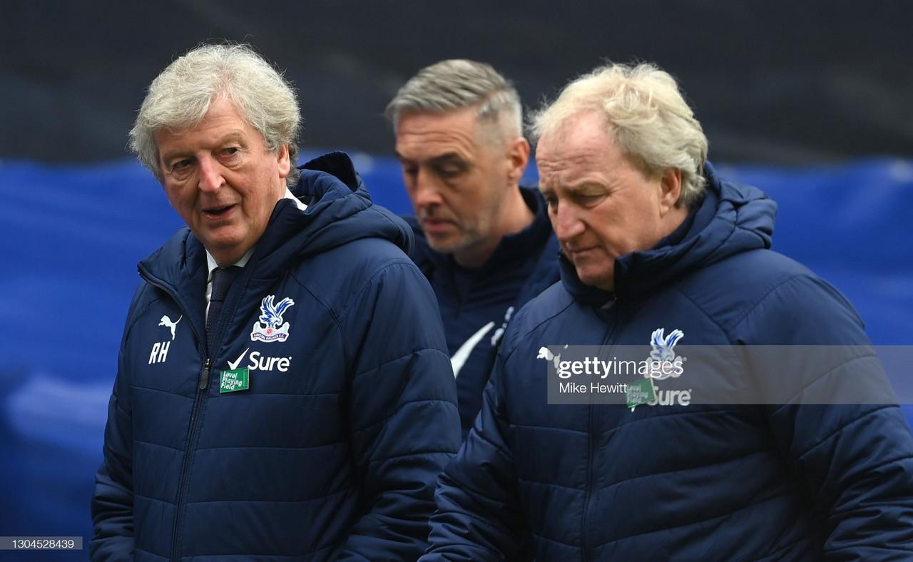 Crystal Palace press conference LIVE: Roy Hodgson on Zaha, Benteke &ManchesterUnited