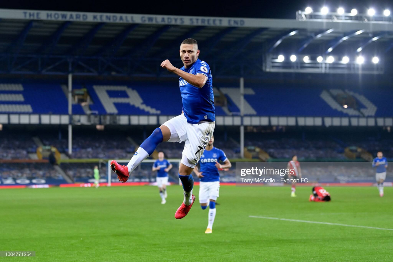 Everton 1-0 Southampton: Richarlison scores to condemn Saints to another defeat
