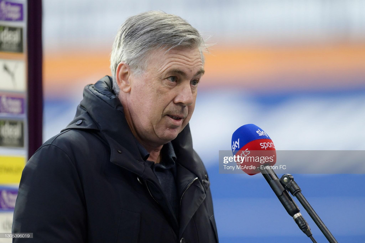 Ancelotti 'not worried' about Everton's injury situation ahead of quarter final