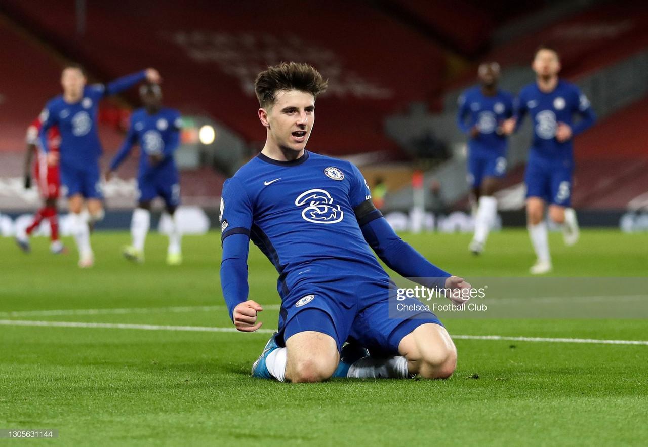 Liverpool 0-1 Chelsea: Mount goal seals big away win