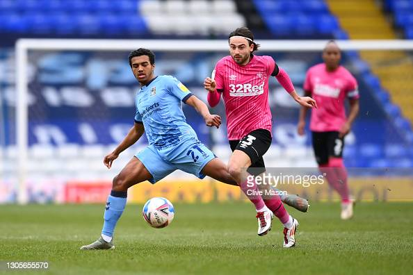 Coventry City 1-0 Derby County: Biamou bags City three huge points