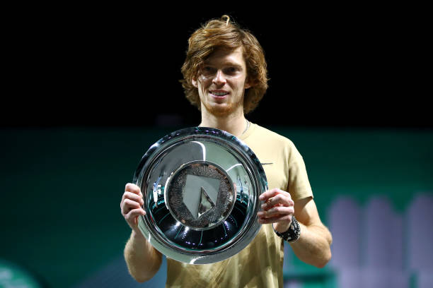 ATP Rotterdam: Andrey Rublev takes home title with victory over Marton Fucsovics