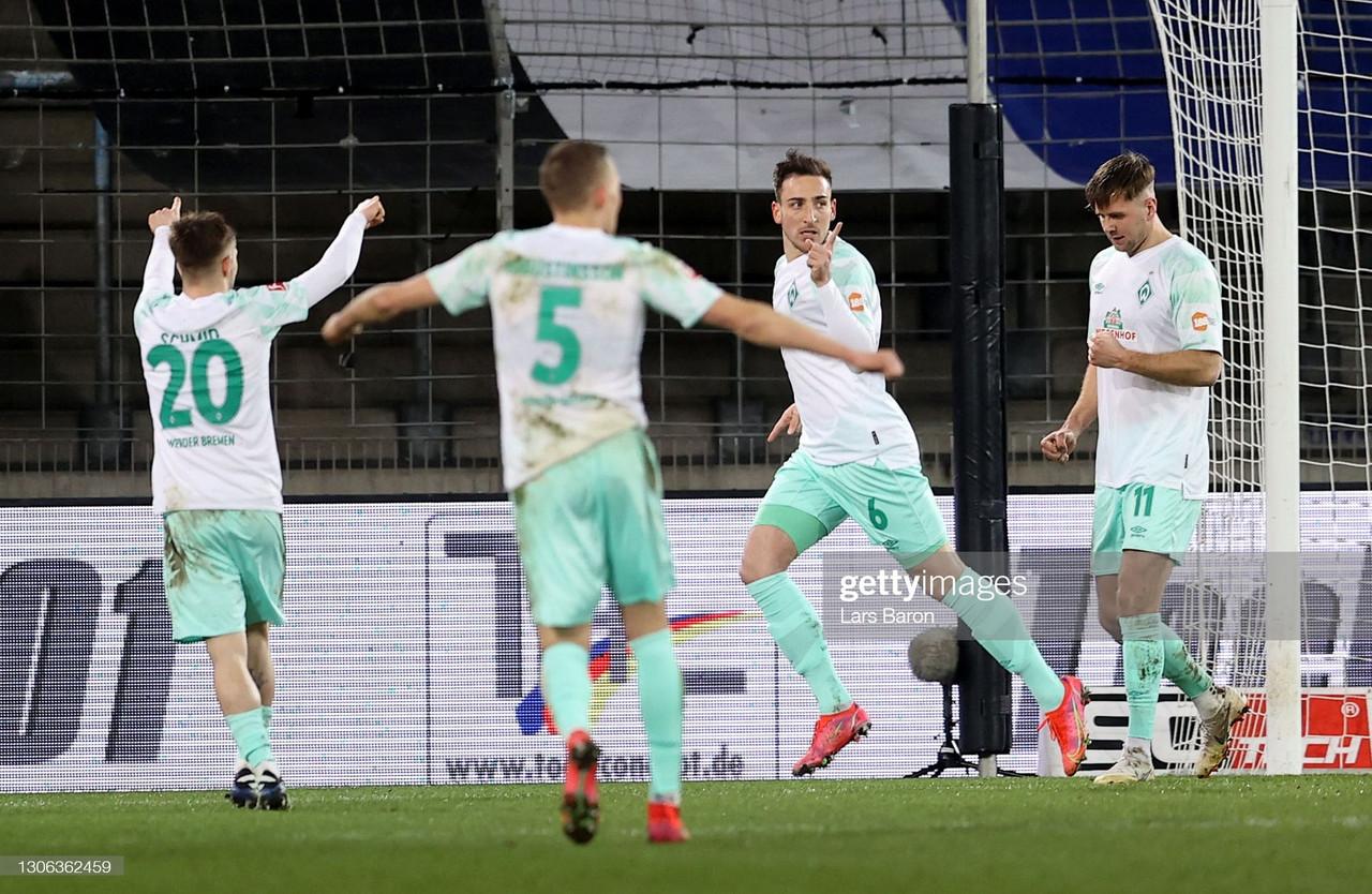 Arminia Bielefeld 0-2 Werder Bremen: Die Grün-Weißen win on the road