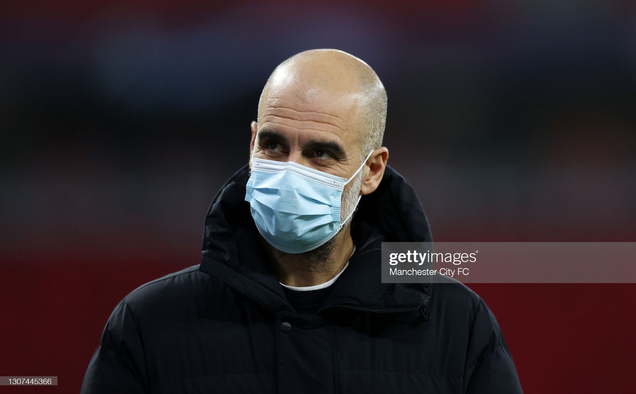 Pep Guardiola insists Manchester City players should 'consider' getting vaccinated