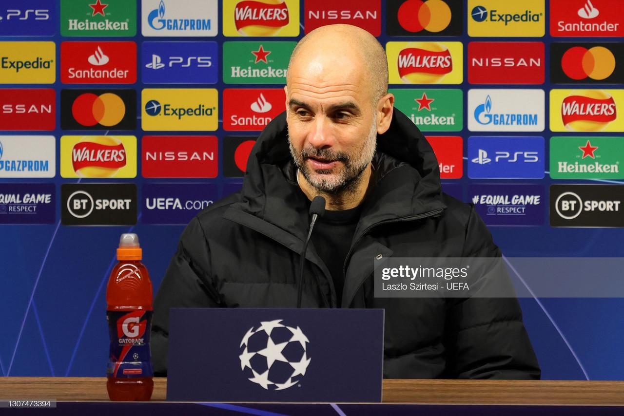 The key quotes from Pep Guardiola's pre-Borussia Dortmund press conference