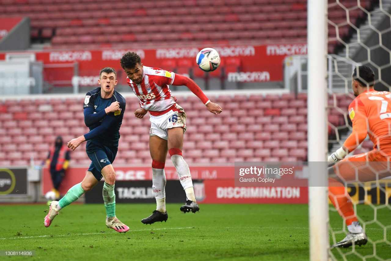 Stoke City 1-0 Derby County: Brown's header ends a dull run of form for Potters