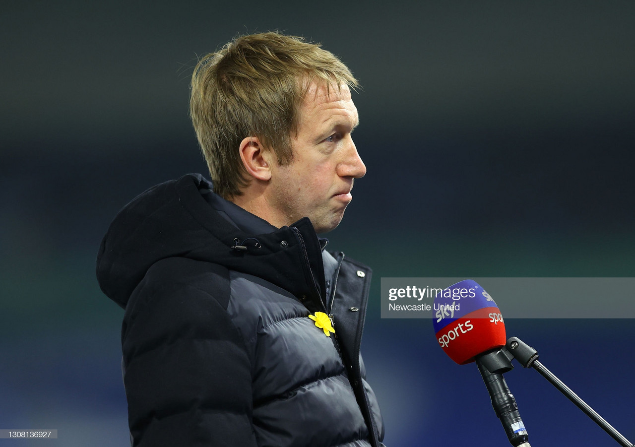 Graham Potter's 5 key quotes ahead of Everton clash