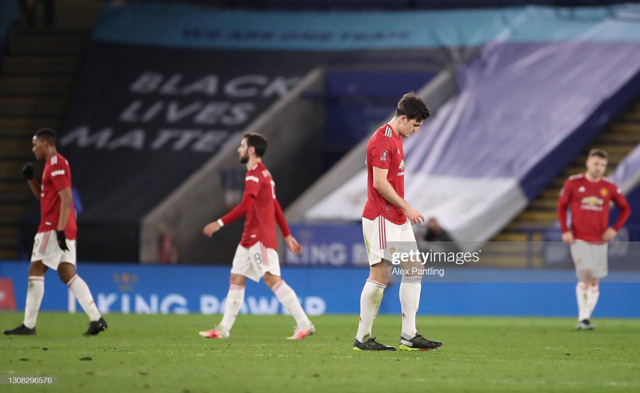 Individual errors see Man Utd's away run go up in smoke