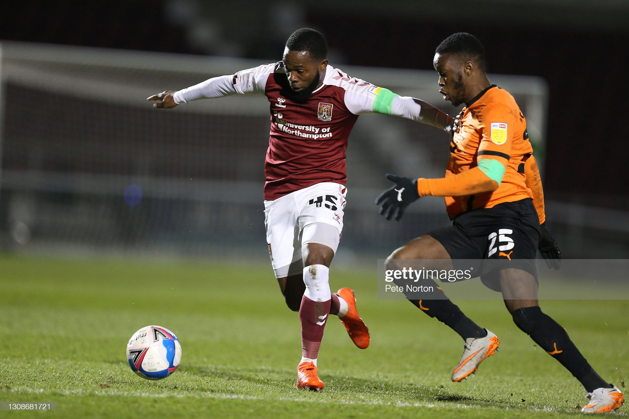 Northampton Town 1-0 Oxford Utd: Sam Hoskins goal the difference