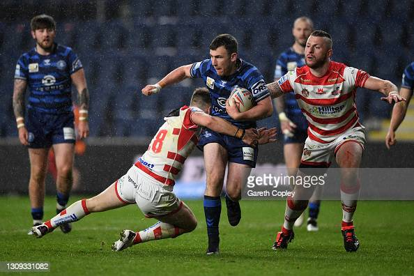 Leigh Centurions 18-20 Wigan Warriors: Wigan survive scare to register first win