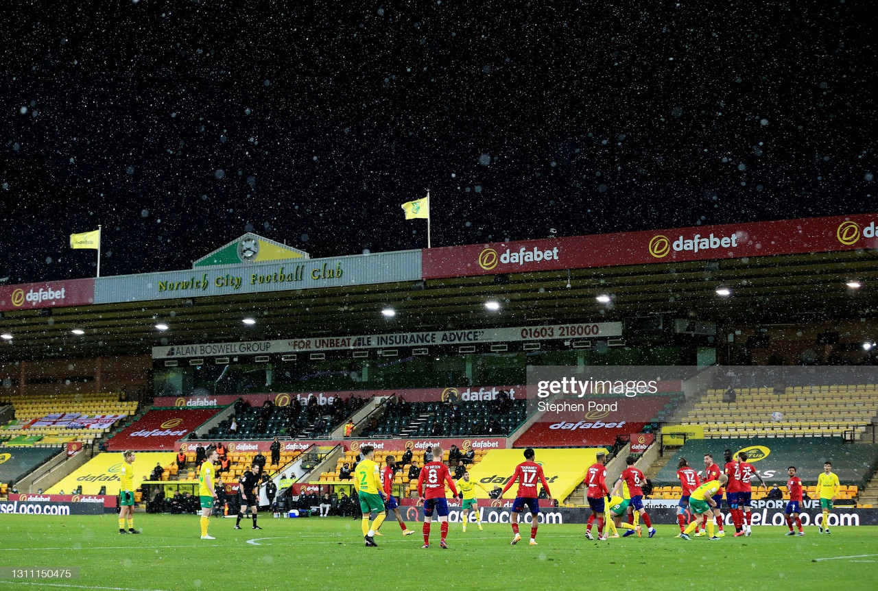 Norwich City 7-0 Huddersfield Town: Canaries destroy Terriers at Carrow Road
