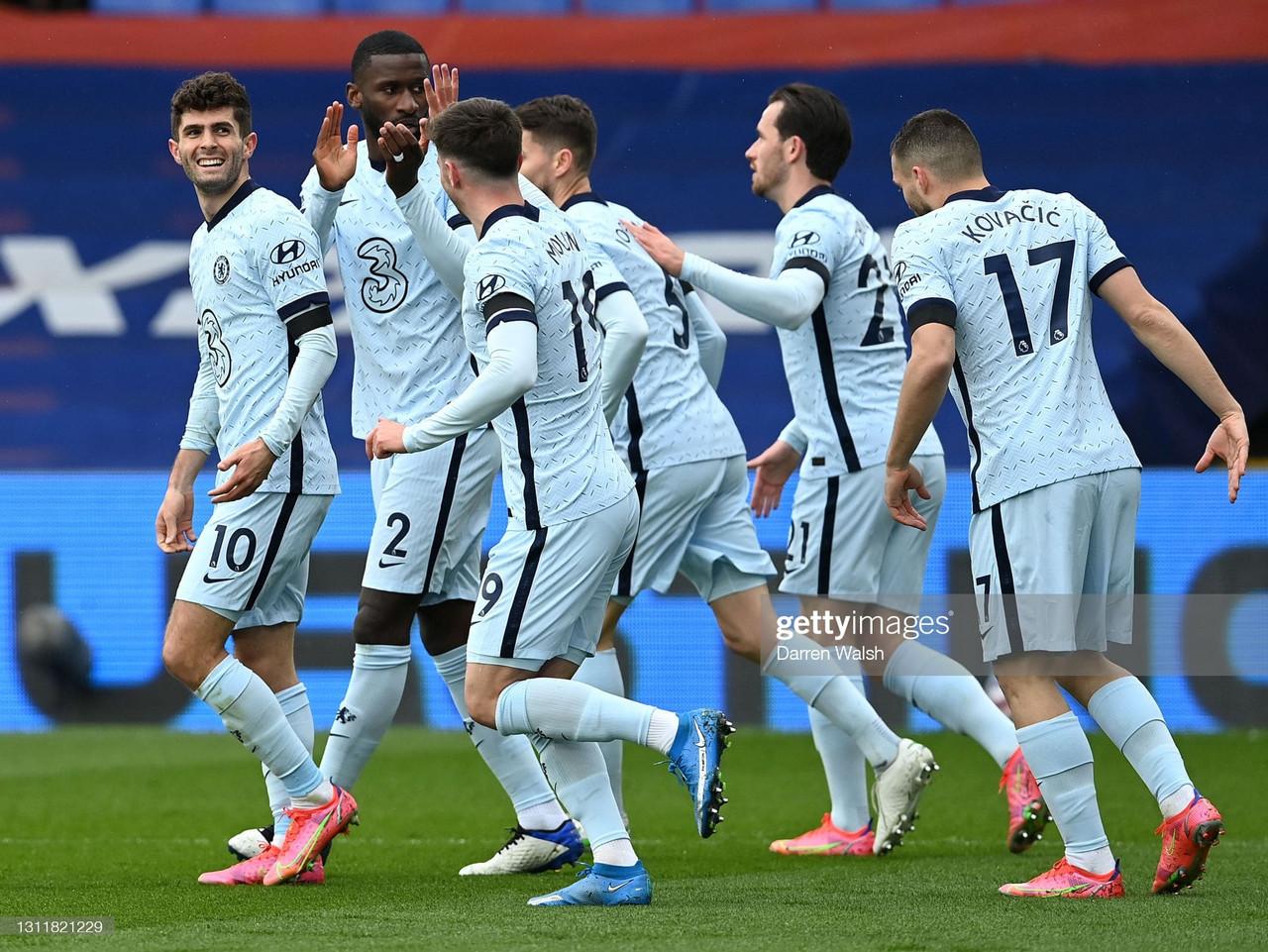 Crystal Palace 1-4 Chelsea:Rampant Blues ravish the Eagles