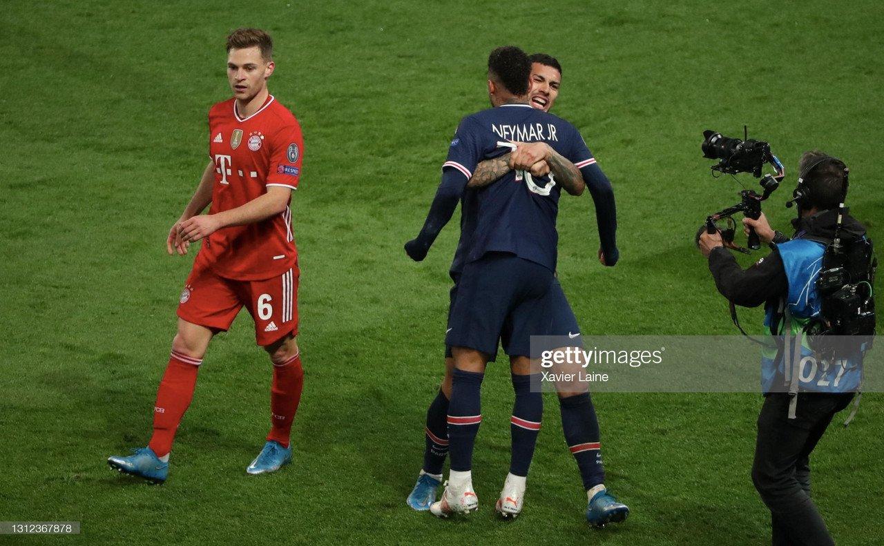 Paris Saint-Germain 0-1 Bayern Munich (3-3 aggregate): Holders bow out on away goals after nail-biting second leg