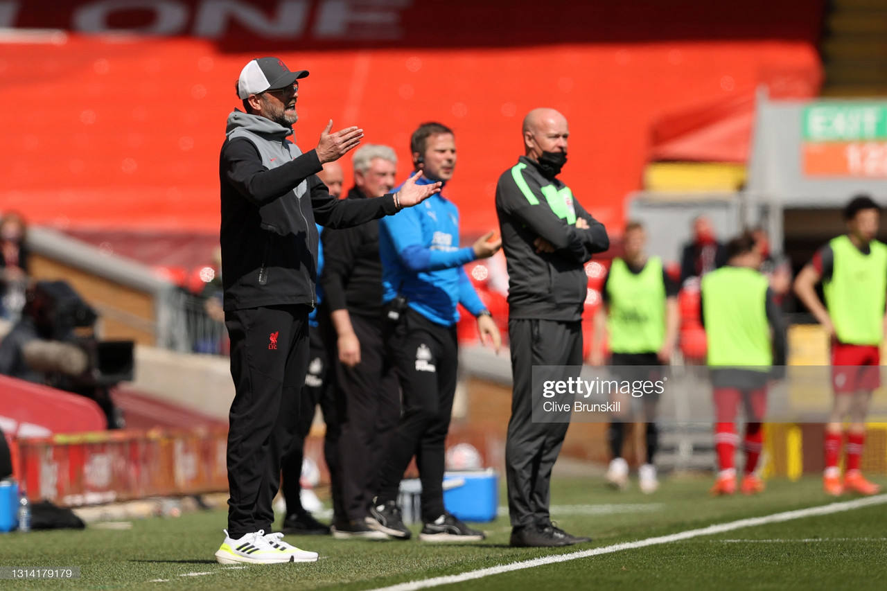 Jurgen Klopp's key quotes from Liverpool 1 - 1 Newcastle