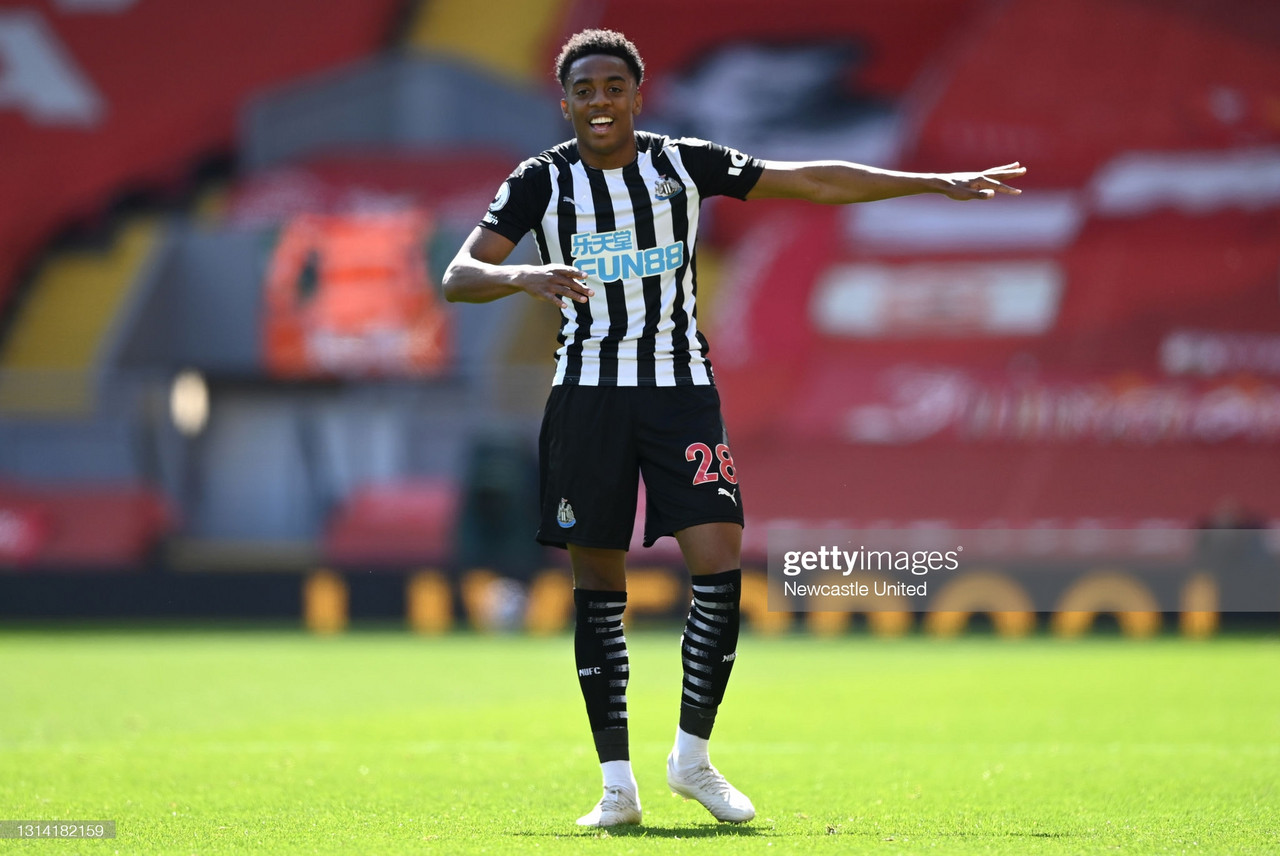 Liverpool 1-1 Newcastle United: Joe Willock scores a last-minute equaliser to punish wasteful Liverpool