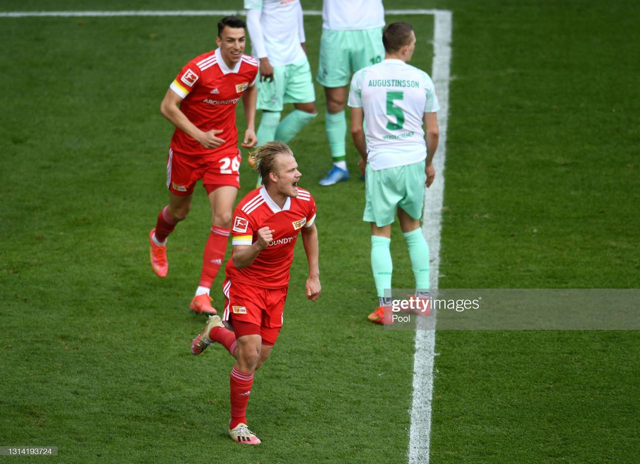 Union Berlin 3-1 Werder Bremen: A hat-trick from Joel Pohjanpalo leads Berlin to victory