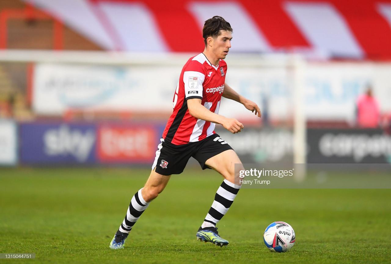 Exeter City 1-1 Barrow: Breathless Barrow halt City's play-off hopes
