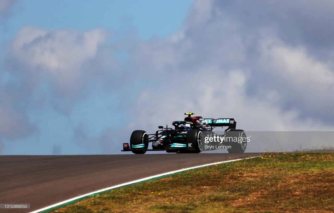 Valtteri Bottas takes the top spot, as Aston Martin struggle - Portuguese GP FP1 Report