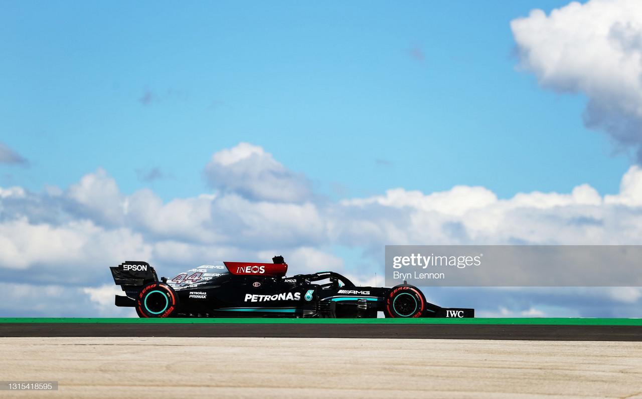 Mercedes Make Top 3 in Practice 2 Alongside Max Verstappen - Portuguese GP FP2 Report